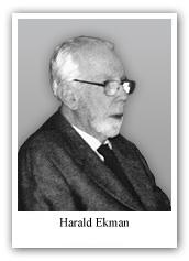 Harald Ekman     1918-2012
